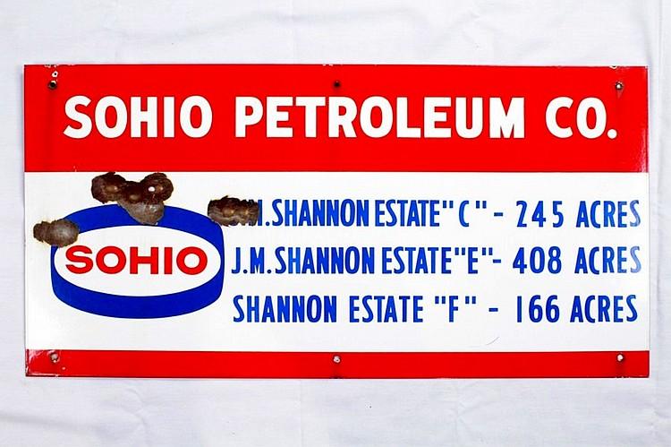 Original Sohio Lease SSP Sign