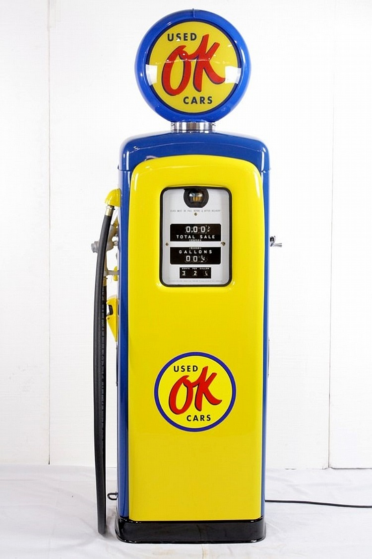 Restored Original M&S 80 Ok Used Cars Pump