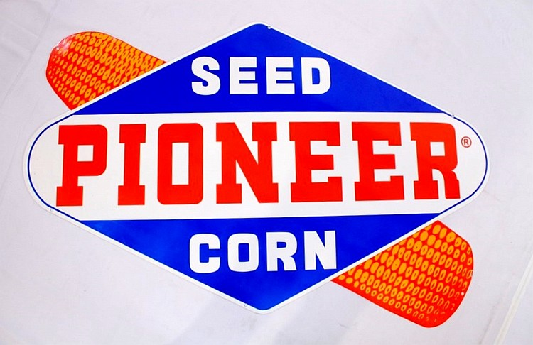 Pioneer Corn Seeds SSP Sign