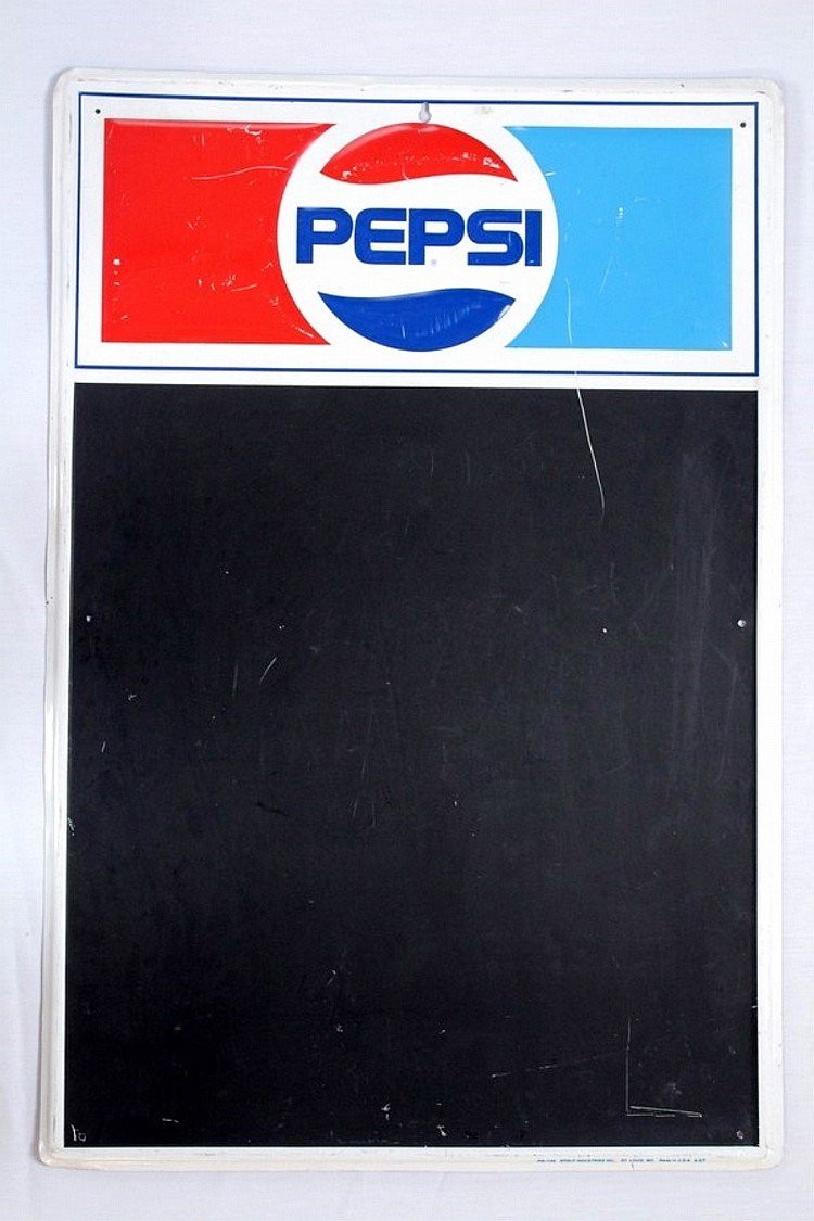 Pepsi Advertising Menu Board