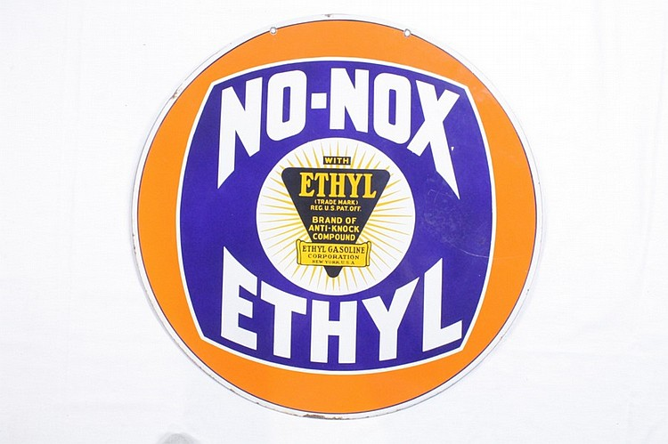 Rare Original No-Nox Ethyl DSP Sign