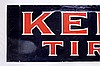 Kelly Tires Single Sided Porcelain Sign