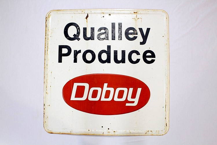 Doboy Qualley Produce Sign