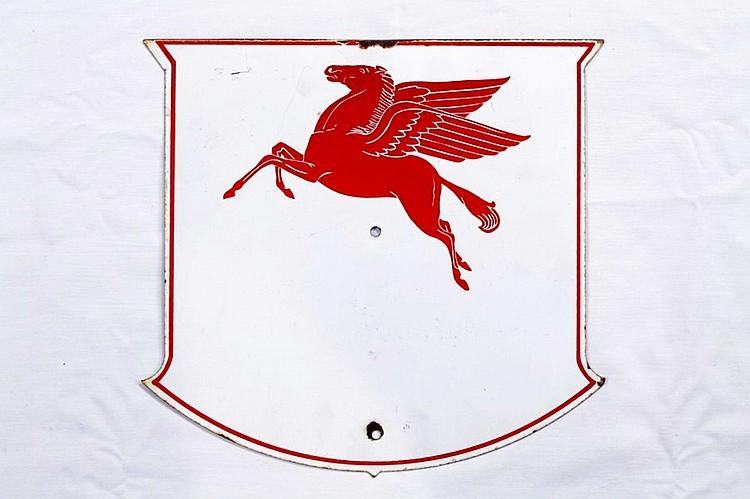 Original Mobile SSP Porcelain Shield Sign