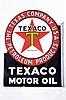 Texaco Motor Oil Diecut DSP Flange