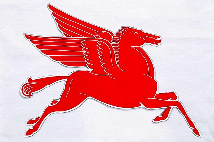 Original Mobil Pegasus SST Sign