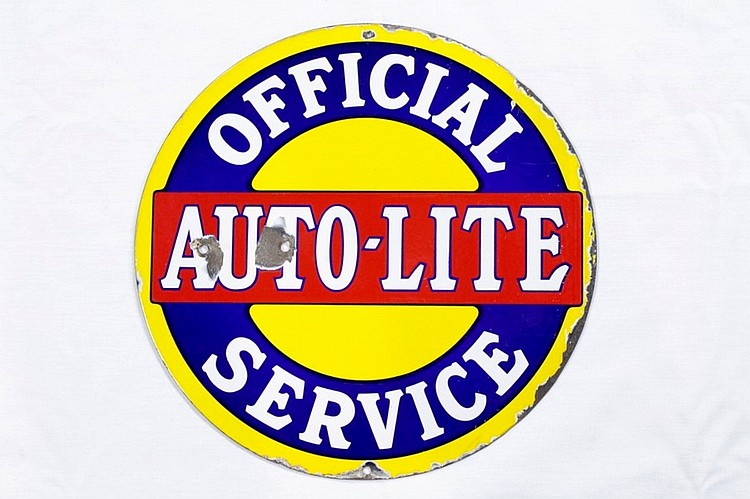 Original Auto-Lite DSP Sign