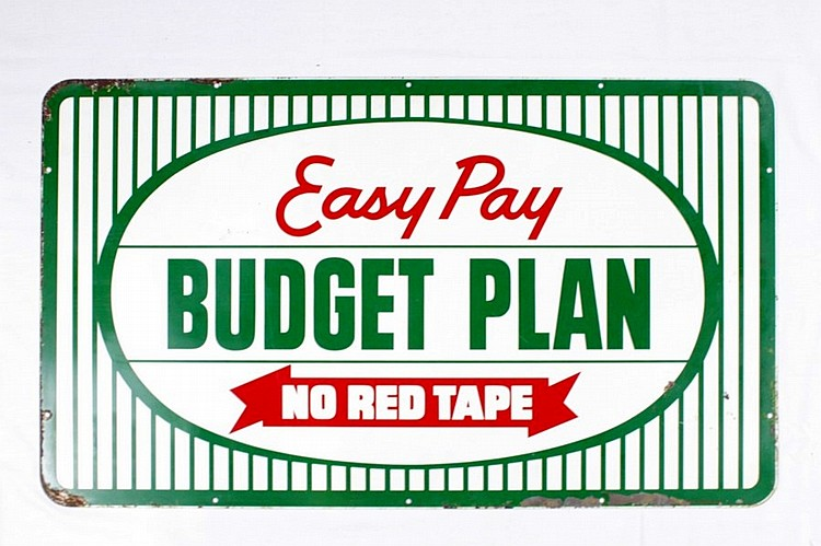 Kelly Tires Easy Pay Budget Plan SST Sign