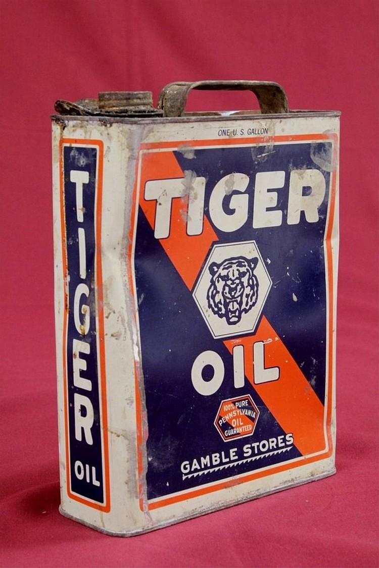 Original Tiger Oil 1 Gallon Can