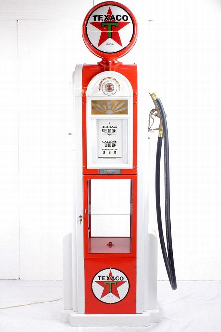 Restored Original Rare Wayne 60 Texaco Pump