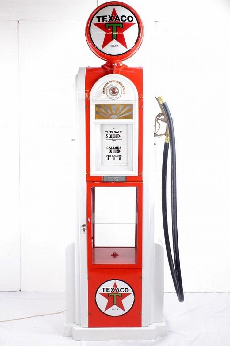 Restored Original Rare Wayne 60 Texaco Pump
