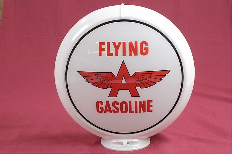 Flying A Gasoline Gas Pump Globe Original Capco