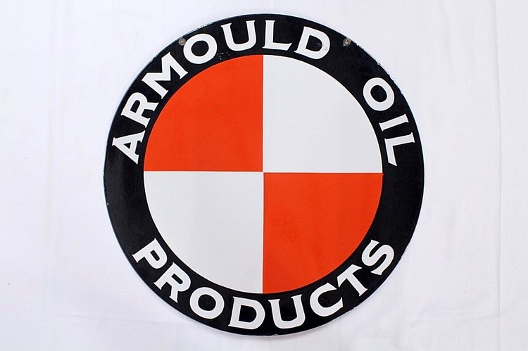 Armould Oil Products DSP Sign