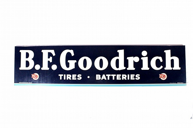 B.F. Goodrich Tires Batteries Self Framed SST Sign