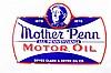 Rare Mother Penn Single Sided Porcelain Sign
