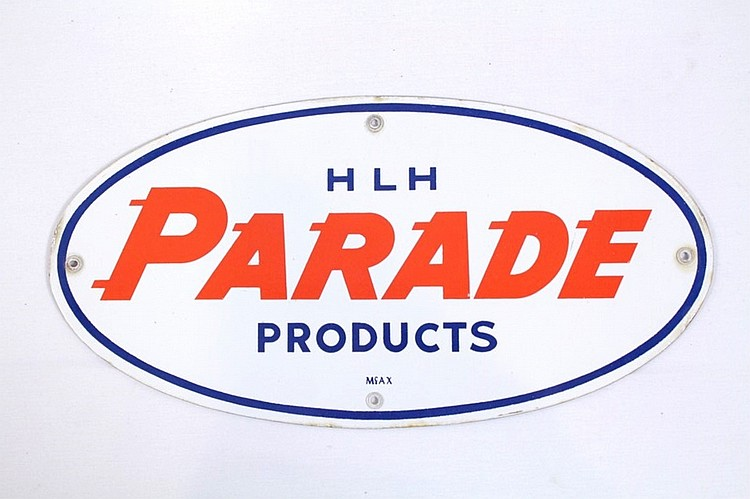HLH Parade Products Gas Pump Plate Sign