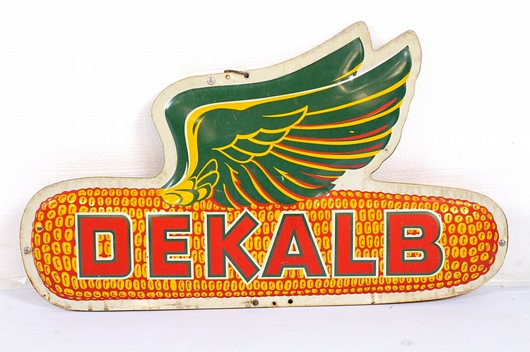 DeKalb Corn Diecut Double Sided Hanging Sign