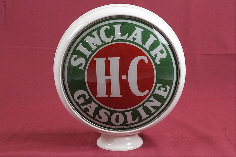 Sinclair HC Gas Pump Globe on 15
