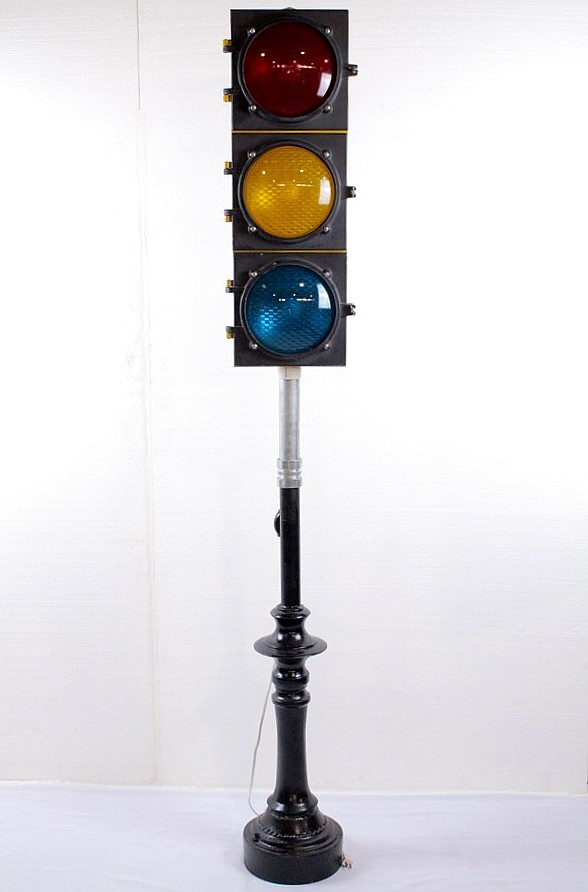 Econolite Decorative Light Up Traffic Signal