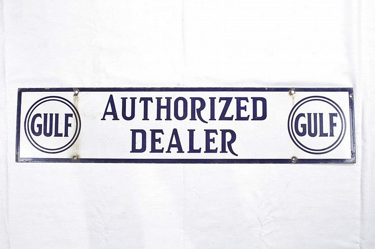 Gulf Authorized Dealer SSP Sign