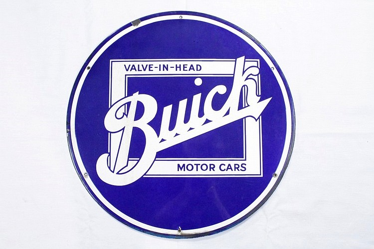 Original Nice Buick SSP Sign