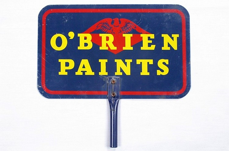 O'Brien Paints DST Display Sign