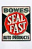 Bowes Seal Fast Auto Products SST Embossed Sign