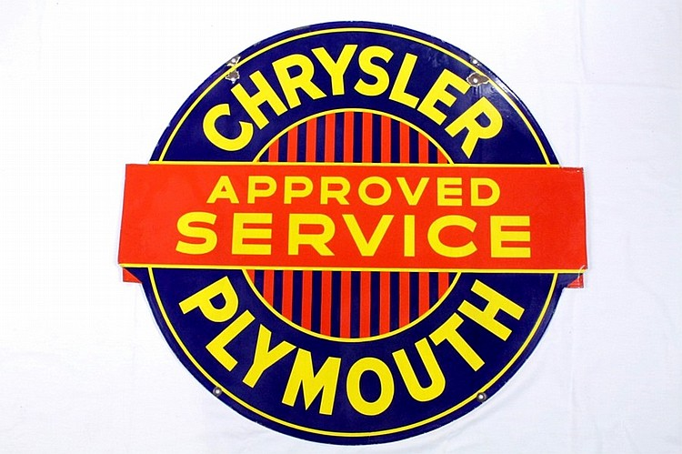 Nice Chrysler Plymouth DSP Sign