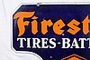Original Firestone Tires/Batteries Diecut DSP Sign