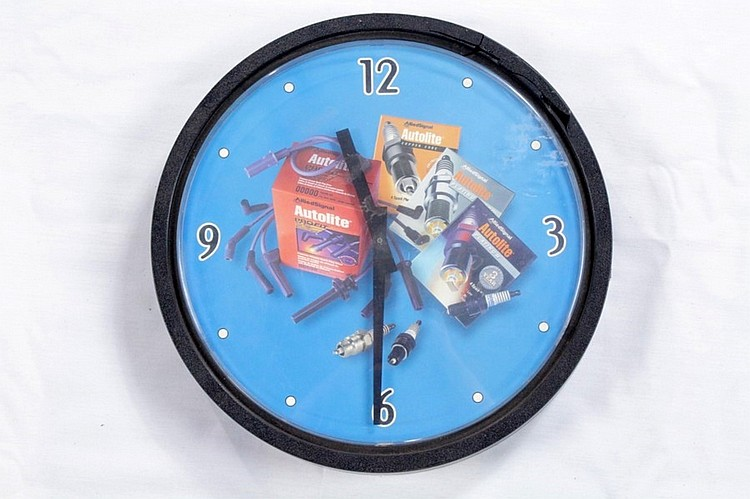 Auto-Lite Wall Clock