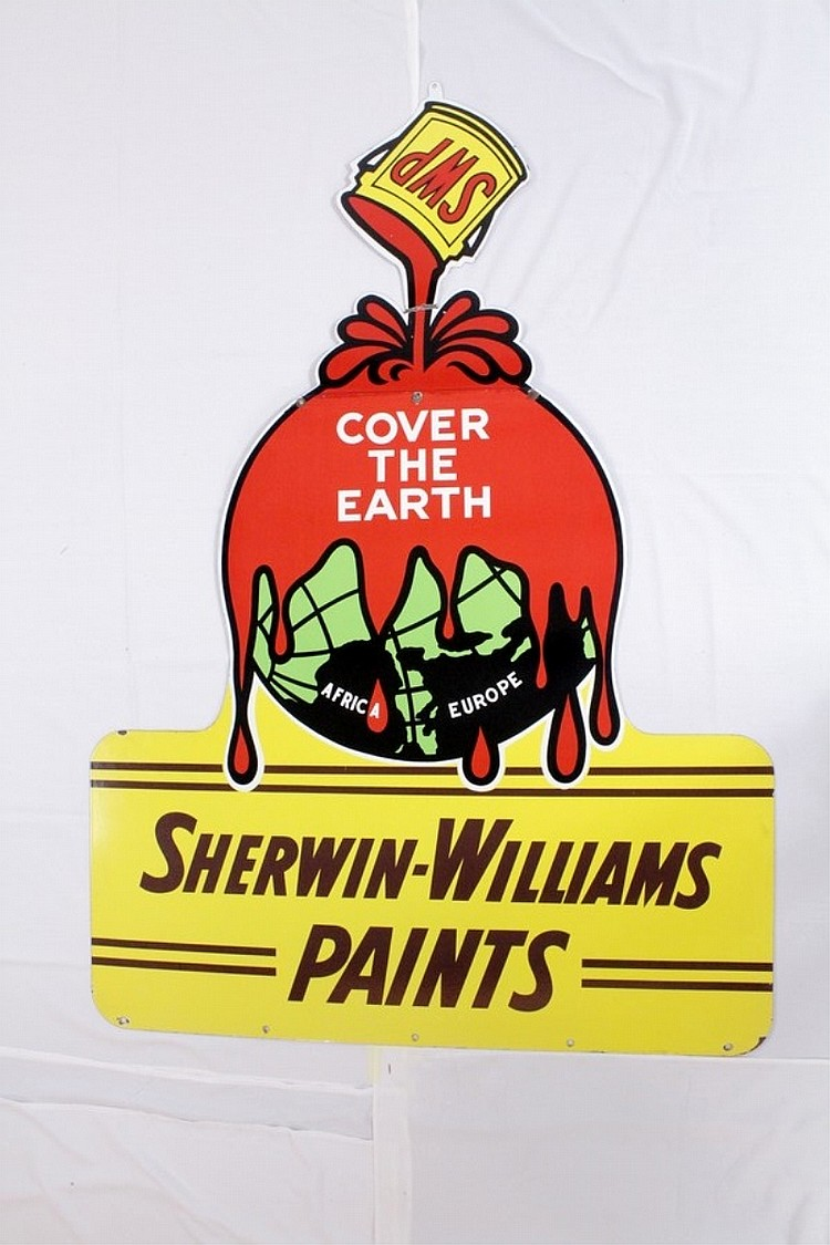 Sherwin-Williams Diecut DSP Sign