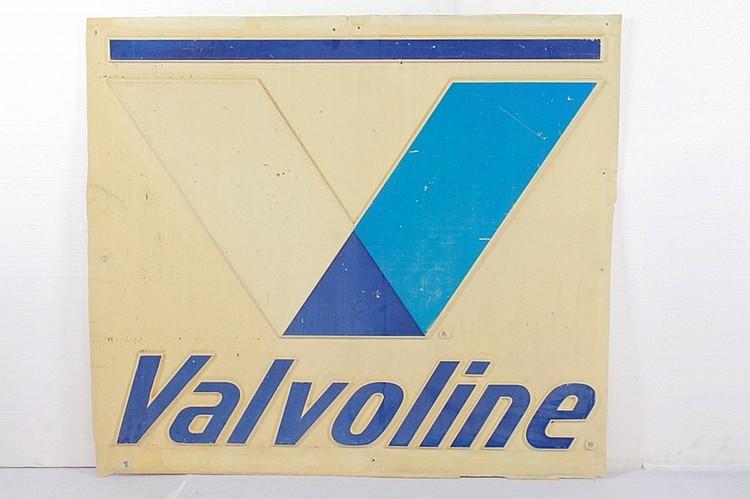 Valvoline Motor Oil Plastic Sign Insert