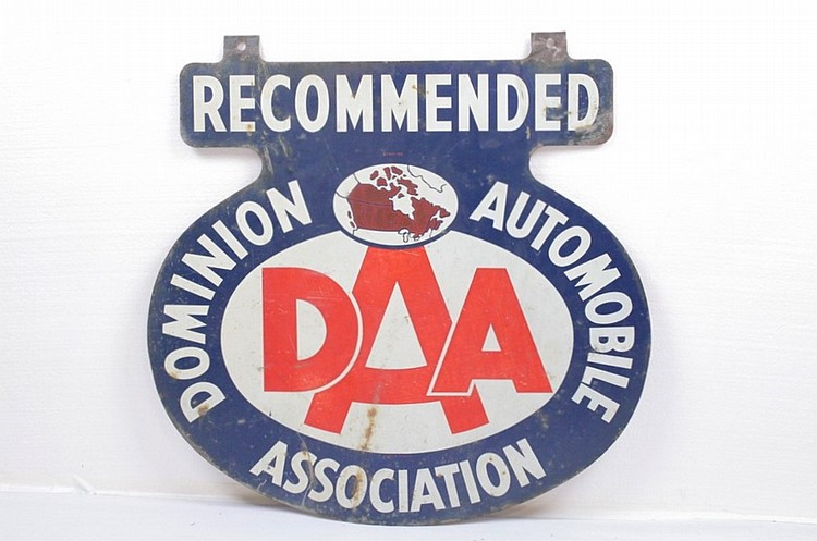 DAA Dominion Automobile Association Sign