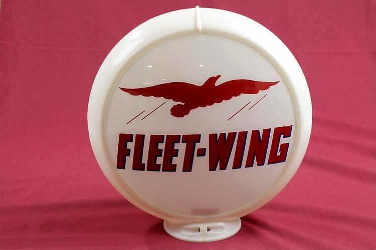 Fleet-Wing Gasoline Gas Pump Globe Original Capco
