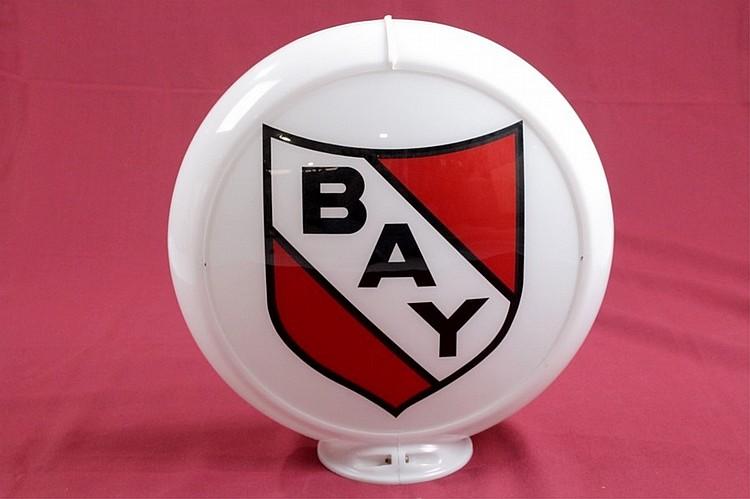 Bay Gasoline Gas Pump Globe on Capco