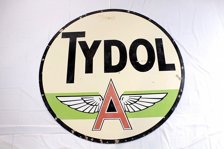 Original Tydol Flying A DSP Sign