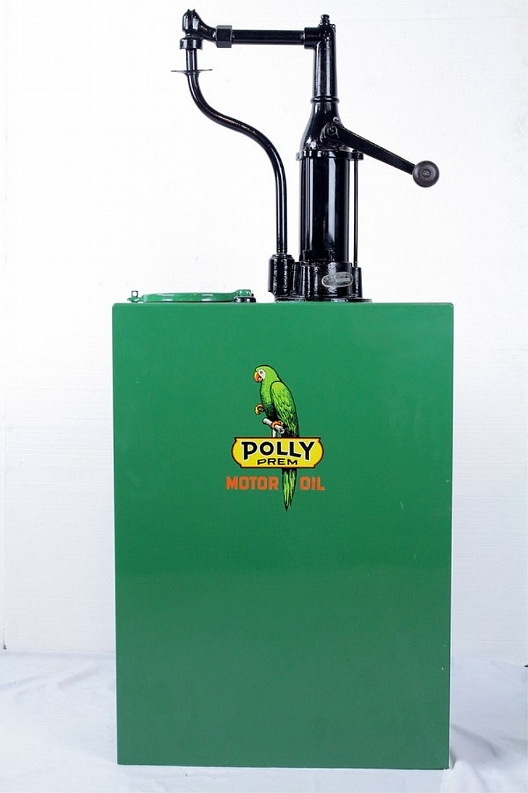 Hand Crank Oil Dispenser