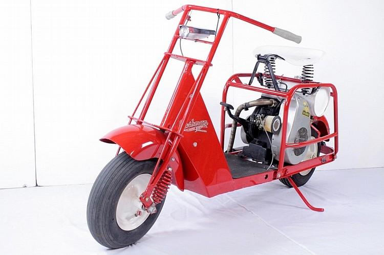 1940 Cushman Motor Scooter