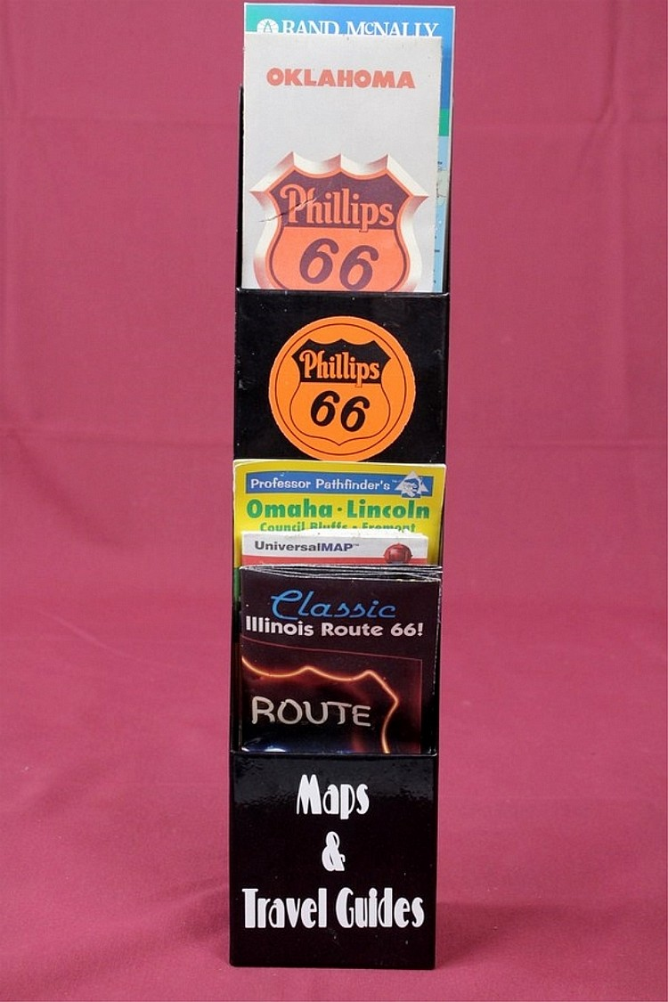 Phillips 66 Maps & Travel Guides Display