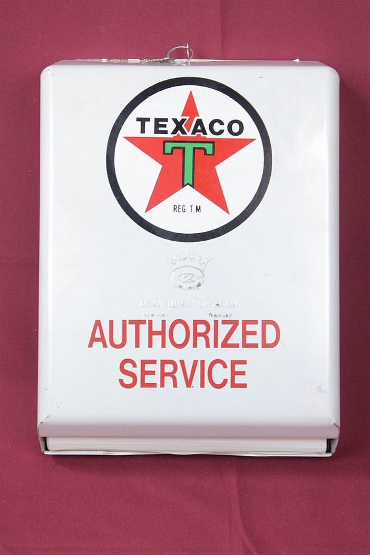 Texaco Authorized Service Paper Towel Dispenser