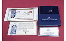 Lot of 5 Commemorative Coin Proofs