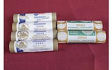 Lot of 6 Commemorative Coin Rolls