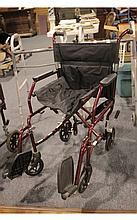 Excel Metal Folding Wheelchair