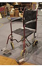 Generic Metal Folding Wheelchair