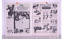 Lot of 2 Western Ads Circa 1950's