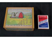Wood Box and Spotter Cards