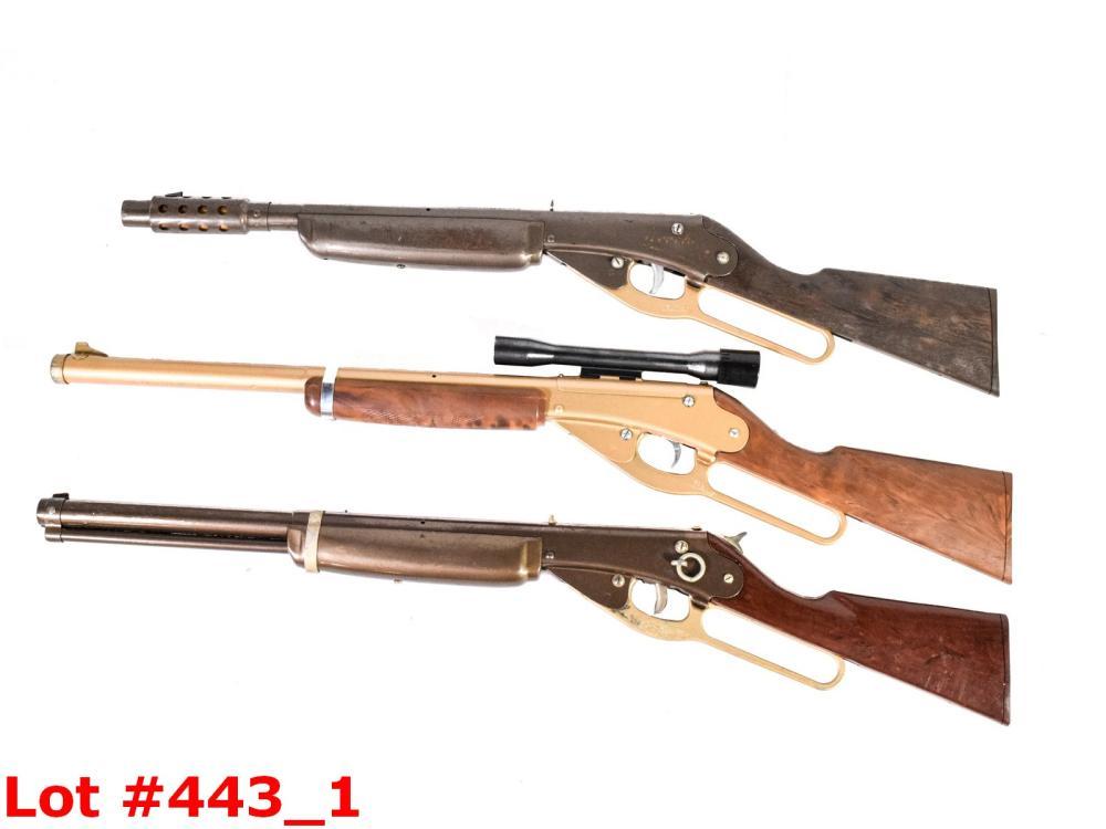 3 Daisy Air Rifles BB Gun Noise Makers