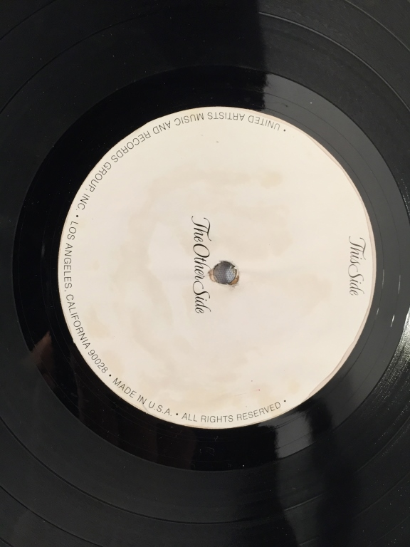Old And In The Way Round Records Rx 1034a B Test Pressing