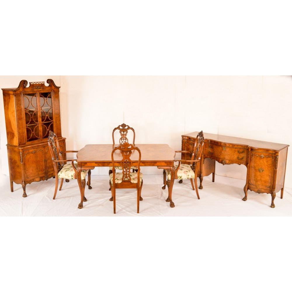 Magnificent 9 Piece Louis XV Dining Room Set