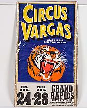 Circus Vargas Poster